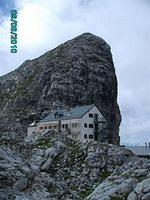 well known Riemanhaus with the summit Sommerstein