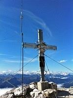 summit cross on Hochzint