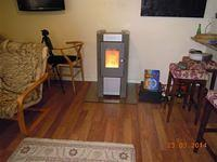 more modern wood pellets stove